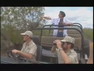 Safari turista esposa gangbang, gratis gangbang porno vídeo 52