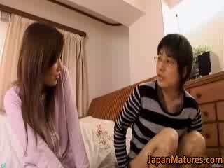 Japonesa maduros mulher has adorável