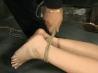 Blond tied in vibed