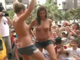 Sluts Dancing At A Redneck Party