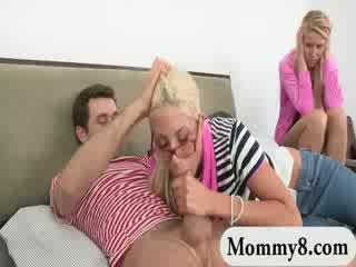 Busty milf Puma Swede and babe slut Vanessa Cage hot FFM threeway
