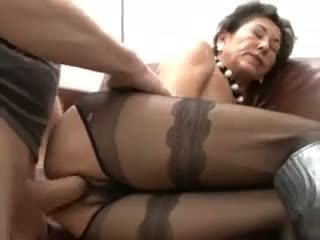 creampie, mature, hairy
