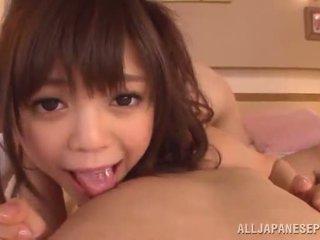 Rina itou has henne trimmed kinesisk bever laget kjærlighet doggy posisjon