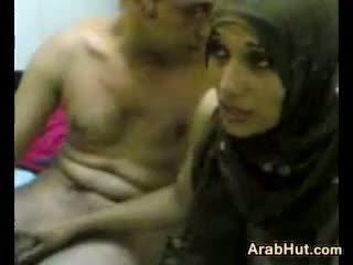 Amatore arabic çift getting ajo në