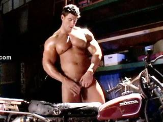 Zeb atlas - motorcycle muscle คน