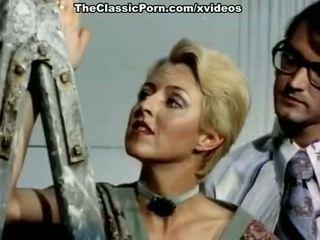 Juliet anderson, john holmes, jamie gillis em clássico caralho clipe