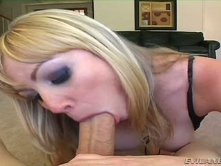 Adrianna nicole sucks two cocks one right after ang other